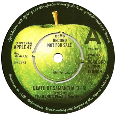 yoko-ono-plastic-ono-band-death-of-samantha-apple