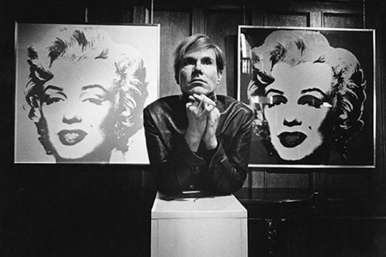 Warhol-AndyWMarilynsBw