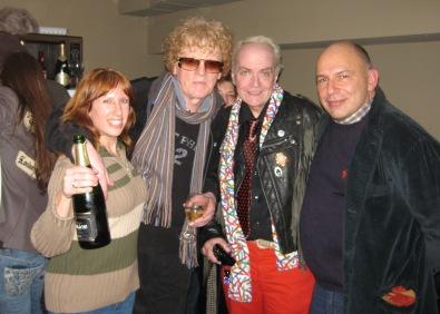 5x7 Ian, Me , Leee, Zee - Dec 2007