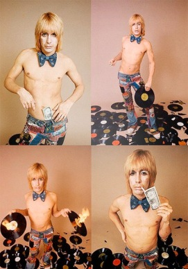 1973, Los Angeles, California, USA --- Portrait of Singer Iggy Pop --- Image by © Neal Preston/CORBIS