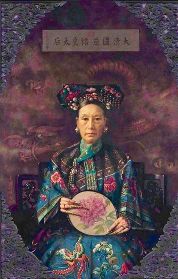 EmpressOilPaintingByHubertVos-1905