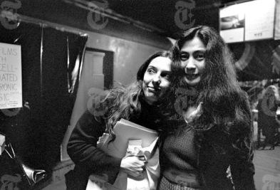 Yoko&CharlotteMoorman10thAvantGarde1973